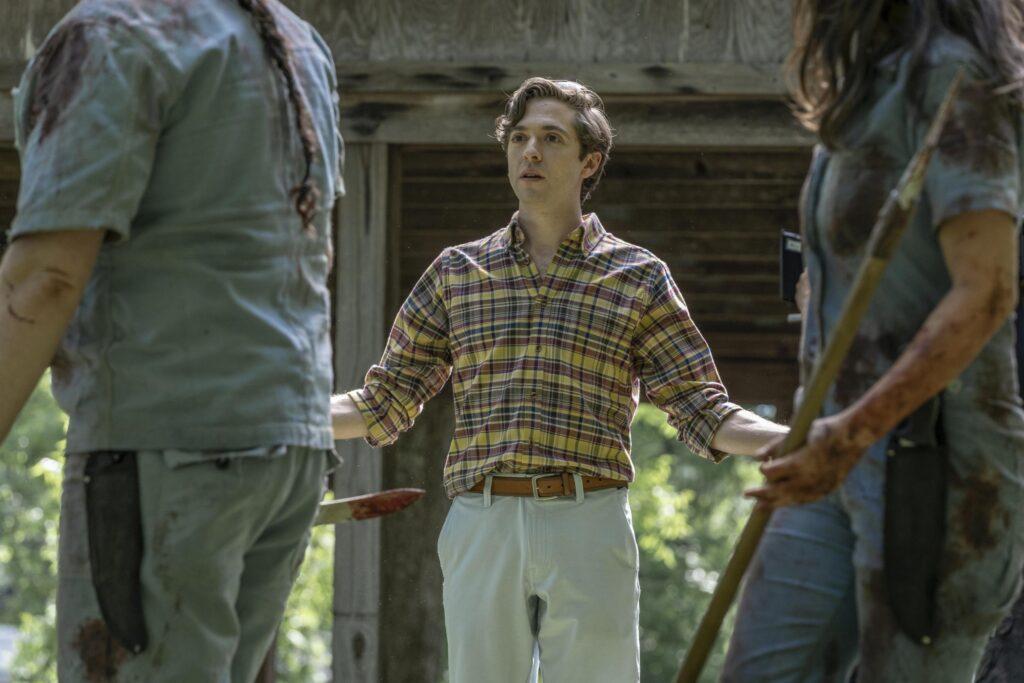 Teo Rapp-Olsson - Sebastian Milton in The Walking Dead 11x07 | Photo: AMC Studios