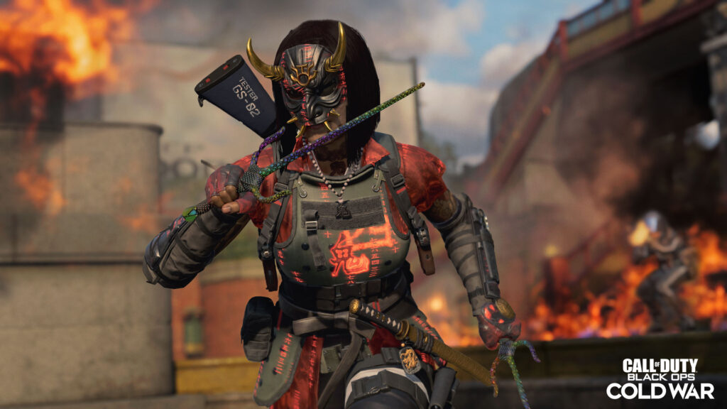 Call of Duty Sai Weapon