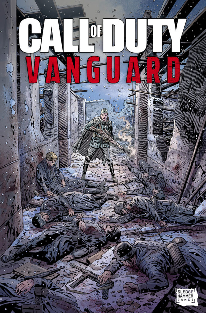 Call of  Duty Vanguard Polina Petrova