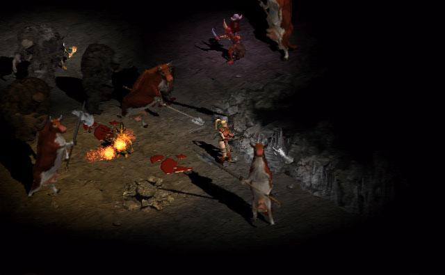 Diablo 2 Resurrected mucche