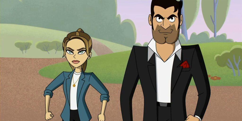 Lucifer 6x03 - Episodio animato