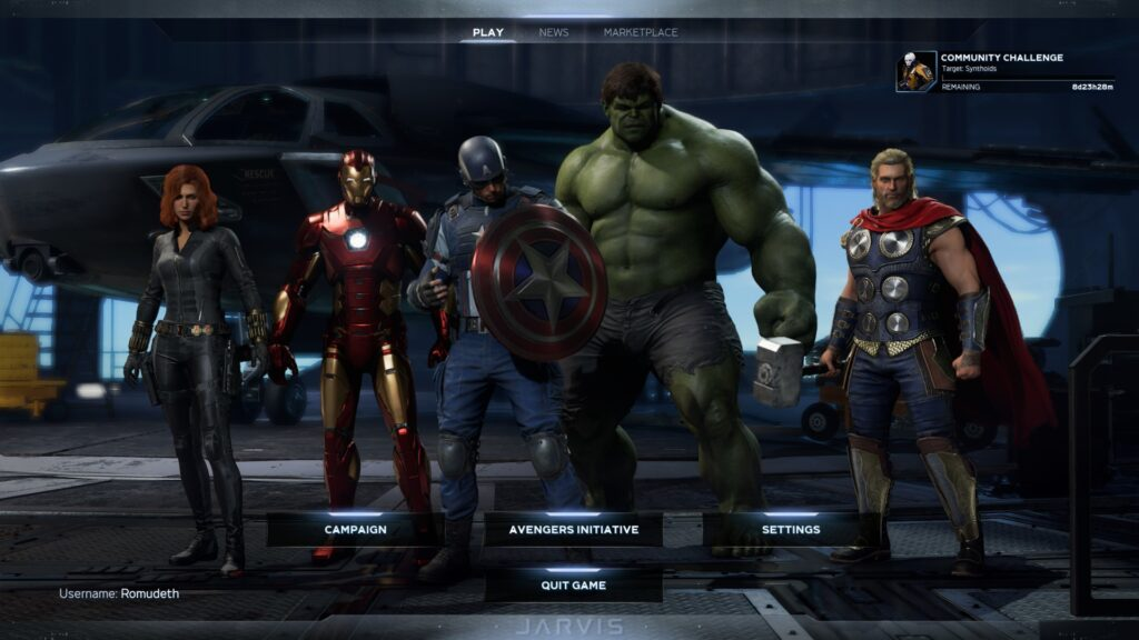 Marvel's Avengers Xbox Game pass Xbox Series X