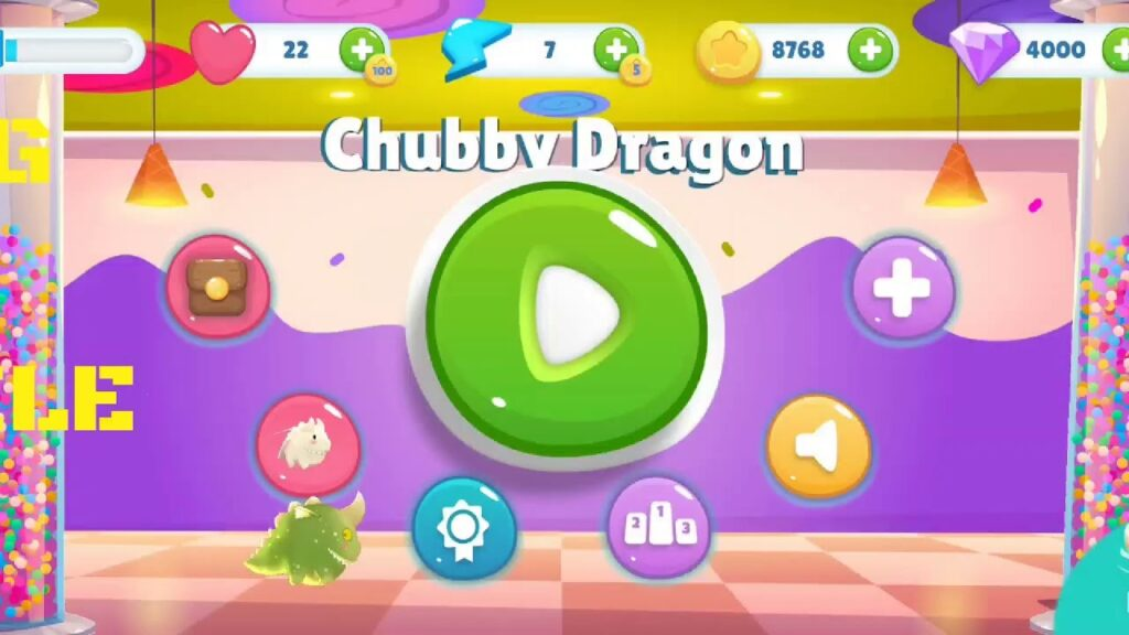 Chubby Dragon Open World Mobile game