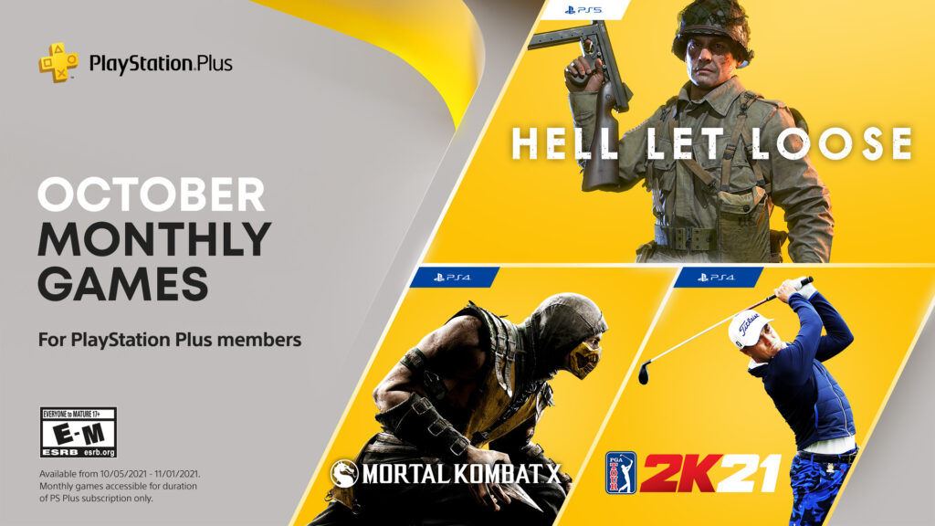 PS Plus Ottobre 2021 Giochi Gratis - PlayStation