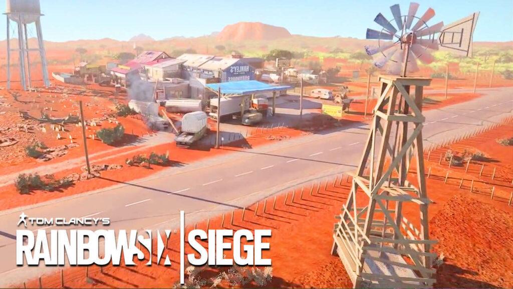Rainbow Six Siege Mappa Outback