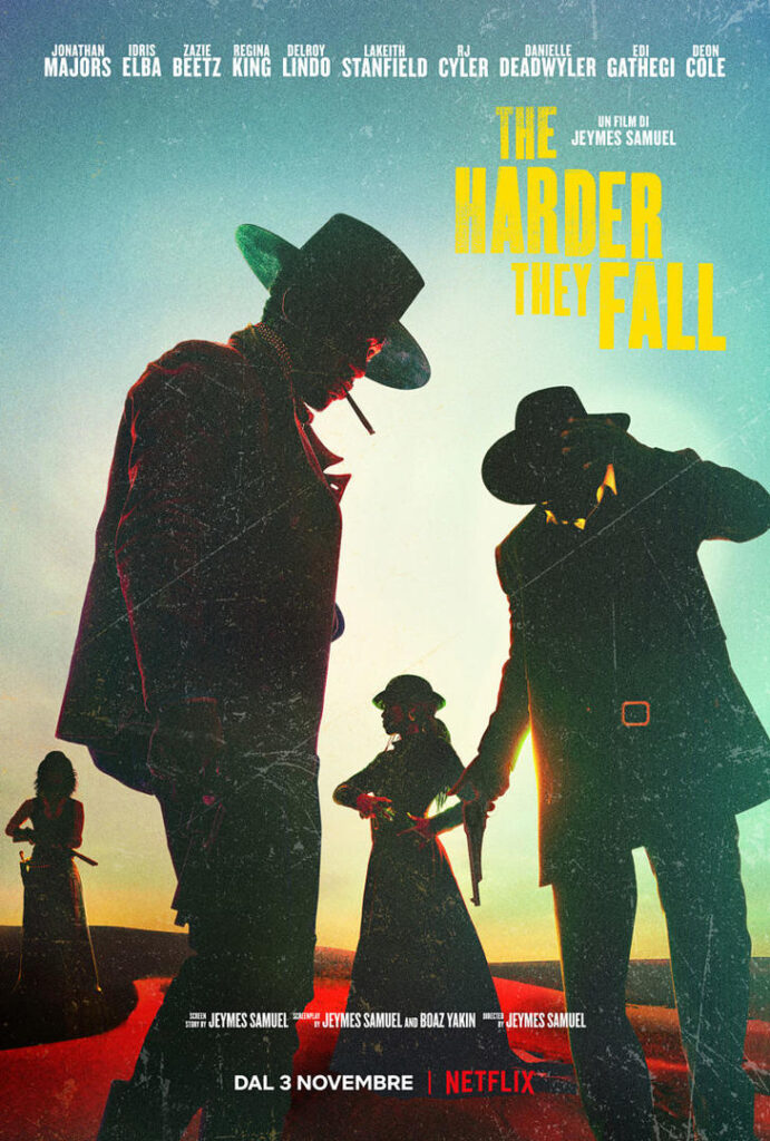 The Harder They Fall - Poster film Netflix