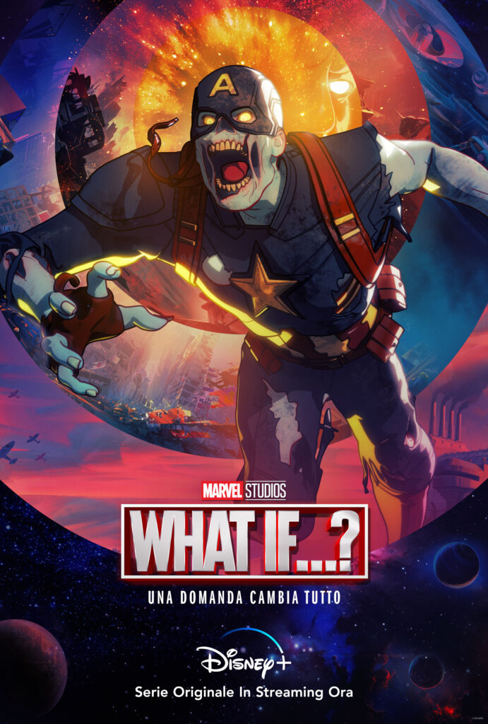 Captain America in versione zombie - Marvel What If... ?