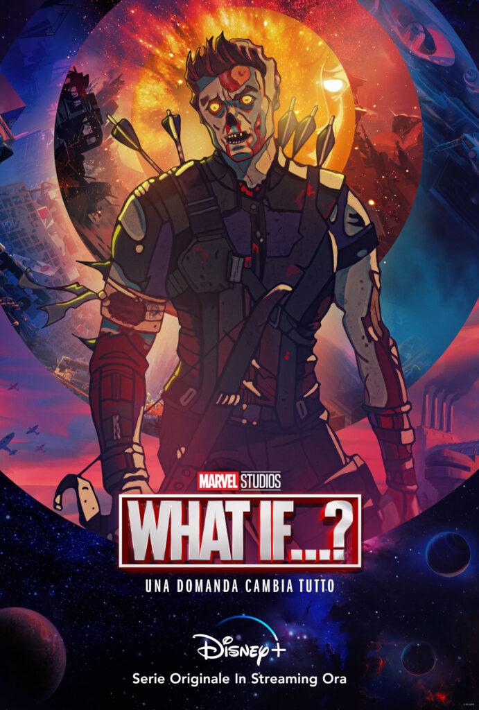 Occhio di Falco in versione zombie - Marvel What If... ?