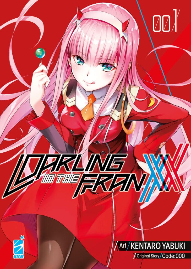 darling in the franxx manga