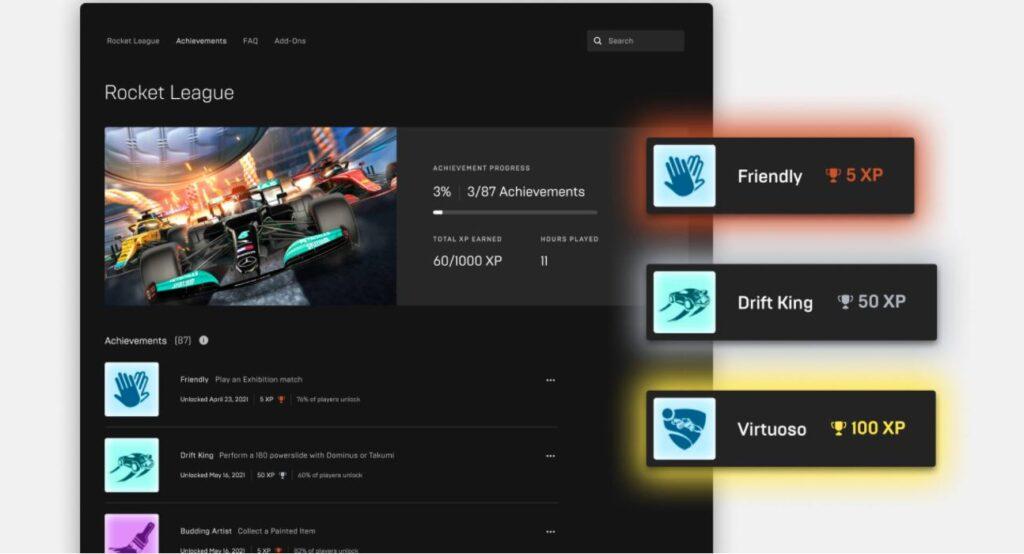 Epic Games Store obiettivi